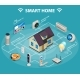 Smart Home Internet of Things Control Comfort - GraphicRiver Item for Sale