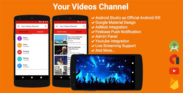 Your Videos Channel - CodeCanyon Item for Sale