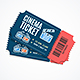 Cinema Movie Tickets Set with Elements - GraphicRiver Item for Sale