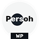 Persoh - Personal Portfolio WordPress Theme - ThemeForest Item for Sale