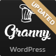 Restaurant Granny - Elegant Restaurant & Cafe WordPress Theme - ThemeForest Item for Sale