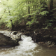 Wilderness landscape. Water in forest river natural scenery - PhotoDune Item for Sale