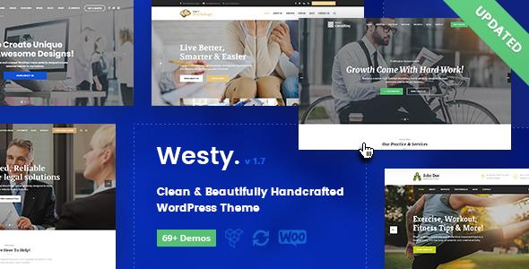 Westy - Responsive Multi-Purpose WordPress Theme - Business Corporate