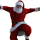 Santa Claus 3D render - GraphicRiver Item for Sale