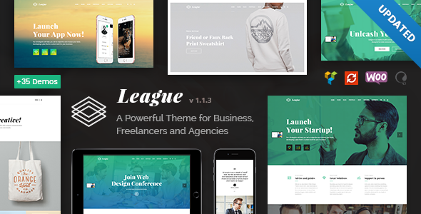 Business League - A Powerful Theme for Business, Freelancers and Agencies - Business Corporate