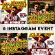 Instagram Banner Halloween Events - GraphicRiver Item for Sale