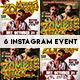 Instagram Banner Halloween Events - GraphicRiver Item for Sale