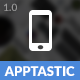 Apptastic Mobile   Mobile Template - ThemeForest Item for Sale