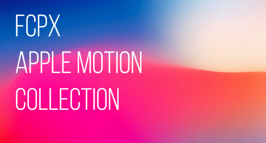 FCPX and Apple Motion templates