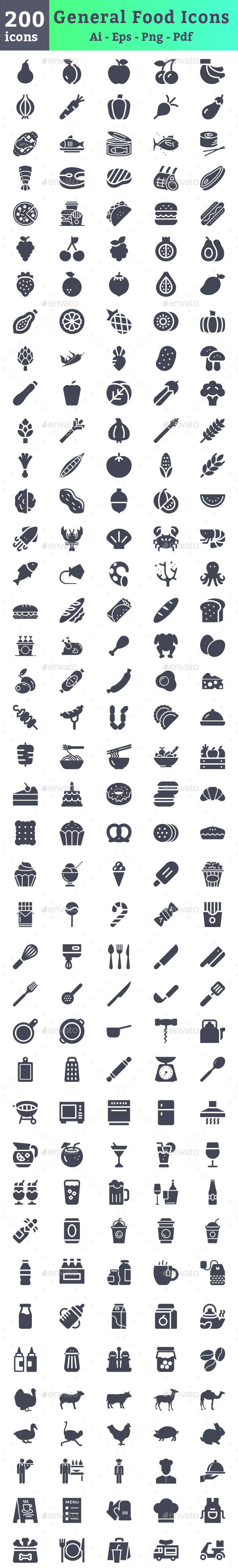 Food Icons - Icons