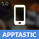 Apptastic Mobile | Mobile Template - ThemeForest Item for Sale