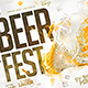 Beer Fest Flyer - GraphicRiver Item for Sale