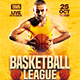 Basketball League Flyer - GraphicRiver Item for Sale