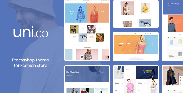 Leo Uni Co - Unisex Fashion and Accessories Prestashop 1.7.4.x Theme - Fashion PrestaShop