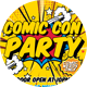Comic Con Party Flyer - GraphicRiver Item for Sale