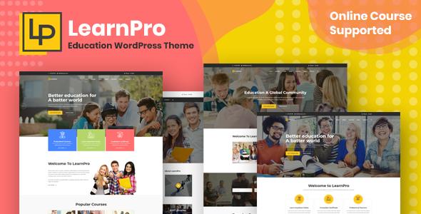 LearnPro - Education WordPress Theme