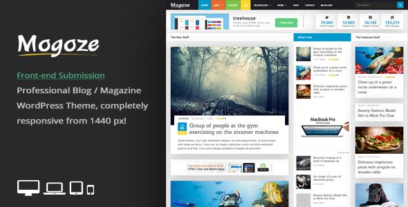 Mogoze - Responsive Magazine WordPress Theme - News / Editorial Blog / Magazine