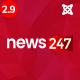 News247 - News/Magazine Newspaper Joomla Template - ThemeForest Item for Sale