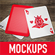 5 Poker Card Mockups - GraphicRiver Item for Sale