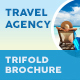 Travel Agency Trifold Brochure 5 - GraphicRiver Item for Sale