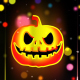 Helloween Neon Background 2 - VideoHive Item for Sale