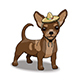 Chihuahua Smiling Cartoon Character Wearing Sombrero - GraphicRiver Item for Sale