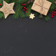 Christmas or New Year holiday creative background - PhotoDune Item for Sale