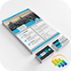 Corporate Flyer + Business Card (Bundle 2 in 1) - GraphicRiver Item for Sale