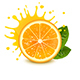 Fresh Orange with a Splash of Juice - GraphicRiver Item for Sale