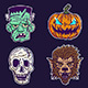 Halloween Monster Set 2 - GraphicRiver Item for Sale