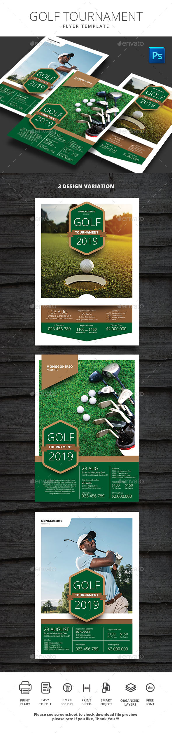 Golf Tournament - Sports Events
