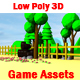 Low Poly 3D Game Assets - 3DOcean Item for Sale