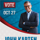 Political Election Poster - GraphicRiver Item for Sale