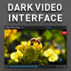 Dark Video Interface - GraphicRiver Item for Sale