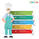 Chef Infographics - GraphicRiver Item for Sale