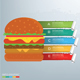 Hamburger Infographics Design - GraphicRiver Item for Sale