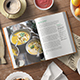 Hard Cover Cook Book Mockup - GraphicRiver Item for Sale