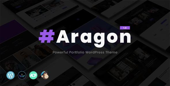 Aragon - Creative Multi-Purpose WordPress Theme