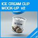 Ice Cream Cup Mock-up v2-Graphicriver中文最全的素材分享平台