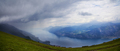 View of Garda Lake from the top of Monte Baldo - PhotoDune Item for Sale