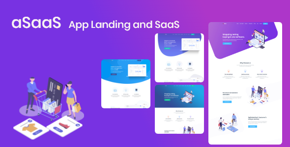 App Landing and SaaS - aSaaS by QuomodoTheme