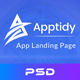 Apptidy - App Landing Page - ThemeForest Item for Sale