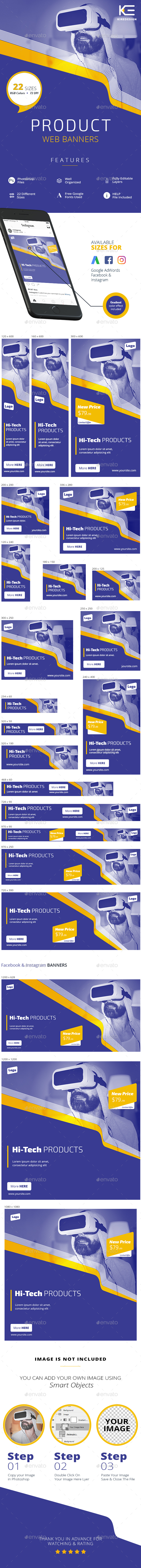 Product Banners - Banners & Ads Web Elements