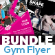 Fitness & Gym Flyer Bundle - GraphicRiver Item for Sale