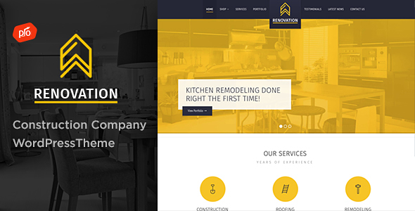 Renovation - Construction Company Theme - Business Corporate