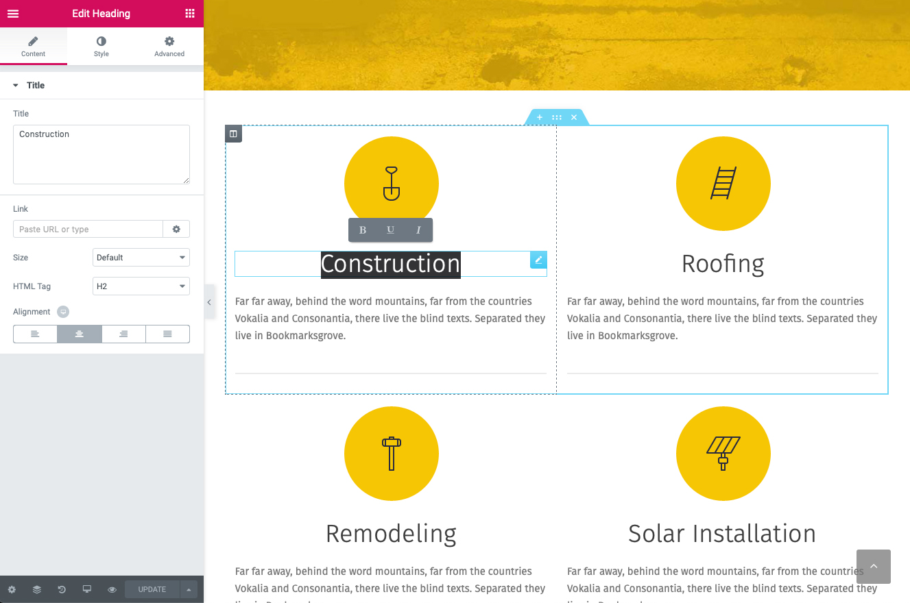 Renovation - Construction Company Theme by ProgressionStudios   ThemeForest