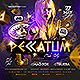 Peccatum Club Party Flyer - GraphicRiver Item for Sale