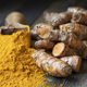 Scoop of Turmeric with Roots - PhotoDune Item for Sale