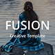 Fusion Creative Keynote Template - GraphicRiver Item for Sale