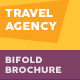Travel Agency Bifold / Halffold Brochure 4 - GraphicRiver Item for Sale